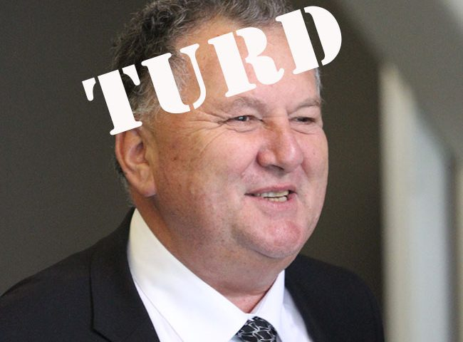 Shane Jones: disgrace